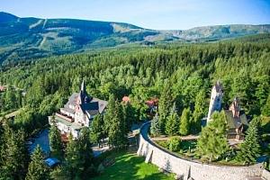 Polsko: Krkonoše v hotelu Tarasy Wang *** s vířivkami, saunou a polopenzí...
