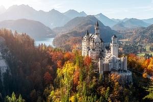 Celodenní zájezd pro 1 k Neuschwansteinu, Herrenchiemsee a do Mnichova v Německu...