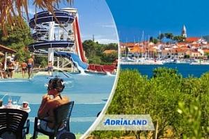 Chorvatsko /Biograd: 8 dní pro 1 osobu v mobilhome + možnost plné penze...