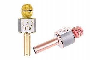 Karaoke mikrofon WS-858 s reproduktorem...