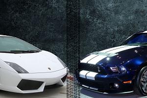 Lamborghini Gallardo vs. Mustang GT500 SHELBY...
