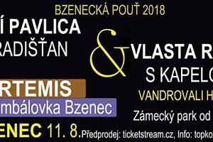 Vstupenka na Bzeneckou pouť 11.8.2018 v Bzenci...