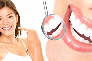 Neperoxidové bělení zubů přístrojem Whiten led v prestižním studiu The One Wellness Club....
