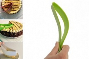 Silikonový chytrý kráječ dortů...