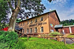 Krkonoše v horské chatě nedaleko Špindlerova Mlýna se saunou, polopenzí a v létě i s půjčením kol...