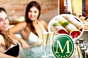 3denní dámská jízda pro dva v Hotelu MORRIS ****, wellness procedury, vířivka a sauna....