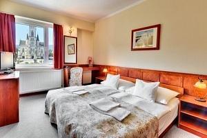 Maďarsko v hotelu Írottkö *** s polopenzí, wellness a vstupem do lázní Sárvár...