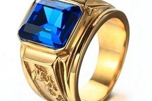 Pánský vintage prsten a poštovné ZDARMA!...