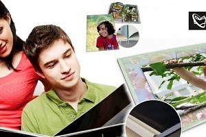 Fotokniha nebo fotosešit v kvalitním provedení. Až 120 stran Vašich zážitků na kvalitním papíře....
