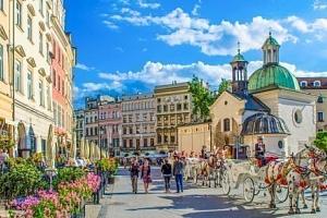 Krakov: dovolená přímo v historickém centru v hotelu Fortuna *** se snídaní...