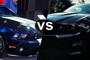 Jízdy snů: Mustang GT5.0 vs Mustang GT500 SHELBY...