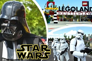 Jednodenní zájezd do německého Legolandu za Star Wars pro 1 osobu - pro milovníky Star Wars....