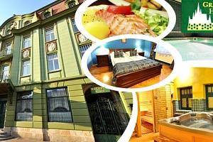 Luxusní ubytování v 4* Grand Hotelu Praha, ubytování, bohaté snídaně, relaxace v privátním wellness....