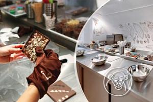 Sladké čokoládové kurzy v Chocolate Monkey...