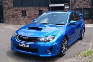 Jízda v Subaru Impreza WRX STI...