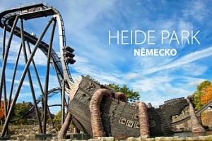 1denní Heide Park pro 1 os. s dopravou + vstupy na atrakce...