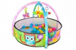 Hrací deka zvířátka s míčky, bazének, 5639...