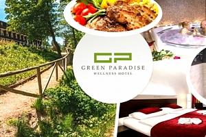 Karlovy Vary - luxusní wellness pobyt pro dvě osoby v hotelu GREEN PARADISE na 2 až 4 dny....
