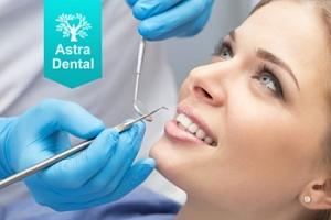 Dentální hygiena včetně AirFlow + Ordinační bělení zubů...