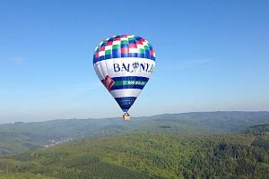 Vyhlídkový let malým balonem...