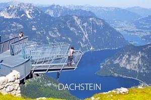 """Výlet do rakouského Dachsteinu: vyhlídka Pět prstů"""", Mamutí jeskyně..."""