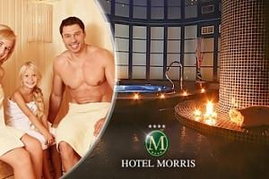 Hotel Morris Česká Lípa pro dva + dítě do 12 let zdarma...