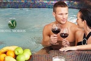 Morris**** Nový Bor: 3 dny pro dva s polopenzí a wellness...
