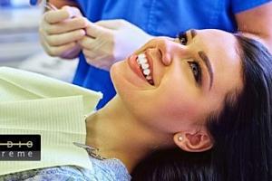 30min. bezperoxidové bělení zubů laserem...