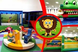 Celodenní vstup do dětského zábavního parku Lvíček pro dítě do 15 let....