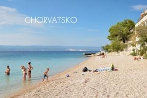 8 dní v Chorvatsku/Omiši pro 1 osobu s polopenzí 3 min. od moře...