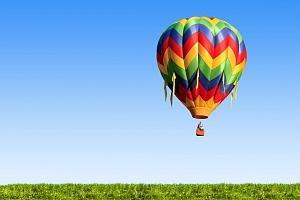 Privátní let balonem pro 2 osoby...