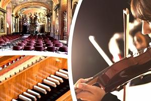 Vivaldi Four Seasons - letní koncerty v Klementinu v podání Dvořák Symphony Orchestra Prague....