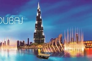 Luxusní DUBAJ letecky na 8 dní pro 1 osobu s dotací senior 50+...