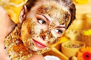 Omlazení pleti: ošetření zlatou maskou/plazmovými toky...