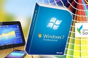 Windows 7 Professional s bezplatným upgradem na desítky ZDARMA, doprava v ceně....
