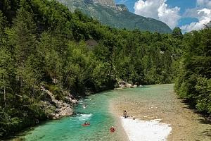 5denní zájezd pro 1 osobu za raftingem i mořem do Slovinska...
