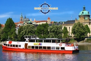 Vyhlídková plavba po Vltavě na 1 či 2 hod. s možností rautu...