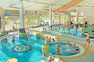 Lázeňský Sárvár pohádkově: 4* hotel Park Inn s neomezeným vstupem do termálů a polopenzí + dítě do…...
