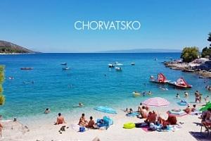 Chorvatsko, 8 dní na ostrově Čiovo v apartmánu pro 4 osoby...