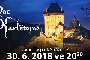 2 lístky na open air muzikál Noc na Karlštejně ve Strážnici 30.6.2018...
