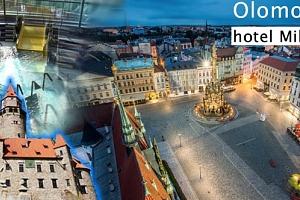 Víkendový pobyt pro dva na 3 dny v hotelu Milotel Olomouc. Polopenze a sleva na Olomouc region Card....