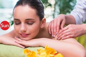 10min. masáž těla i nohou a aroma lázeň + maska na obličej...