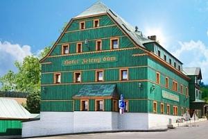 3 až 5denní letní pobyt pro 2 s polopenzí v hotelu Zelený Dům v Krušných horách...