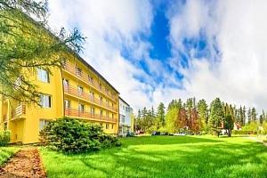 Vysoké Tatry v horském hotelu Lesana *** s neomezeným wellness a polopenzí...