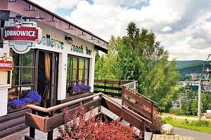 Harrachov jako na dlani ve sporthotelu u stanice lanovky na Čertovu horu + bohatá polopenze i letní…...