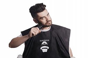 Zachytávač vousů Beardboss v černé nebo bílé barvě...