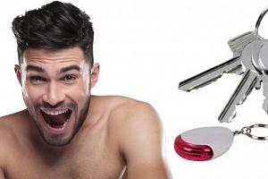 Keyfinder - ukončí Vaše věčné trápení při hledání klíčů. Stačí zapískat a klíče jsou na světě....