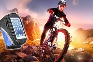 Cyklobrašna - vychytávka a dárek pro cyklisty. Kvalitní voděodolné, polstrované pouzdro pro mobil....