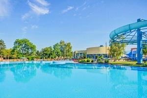 Dunajská Streda přímo v areálu Thermalparku s neomezenými bazény a polopenzí...
