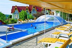 Kultovní Balaton a jezero Hévíz relaxačně v rodinném penzionu s neomezeným wellness, fitness,…...